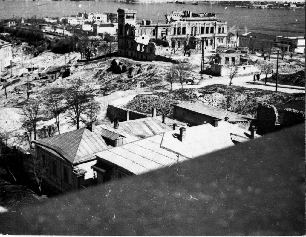 Панорама улиц города. Севастополь, 1951 г. ГАГС, фонд фотодокументов, ед. хр. № 3382.