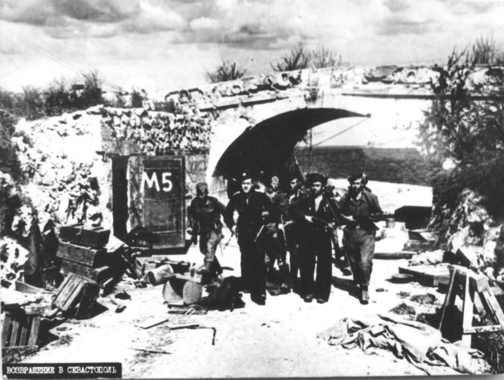 Воины Советской армии