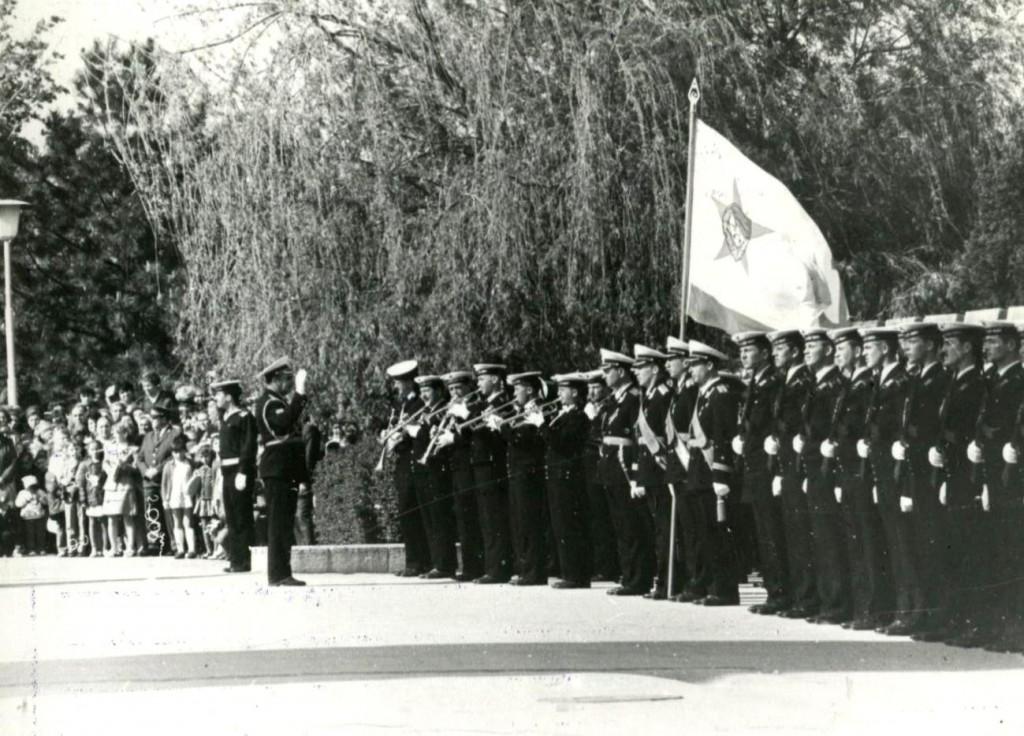 Торжественная церемония  у  обелиска Славы
