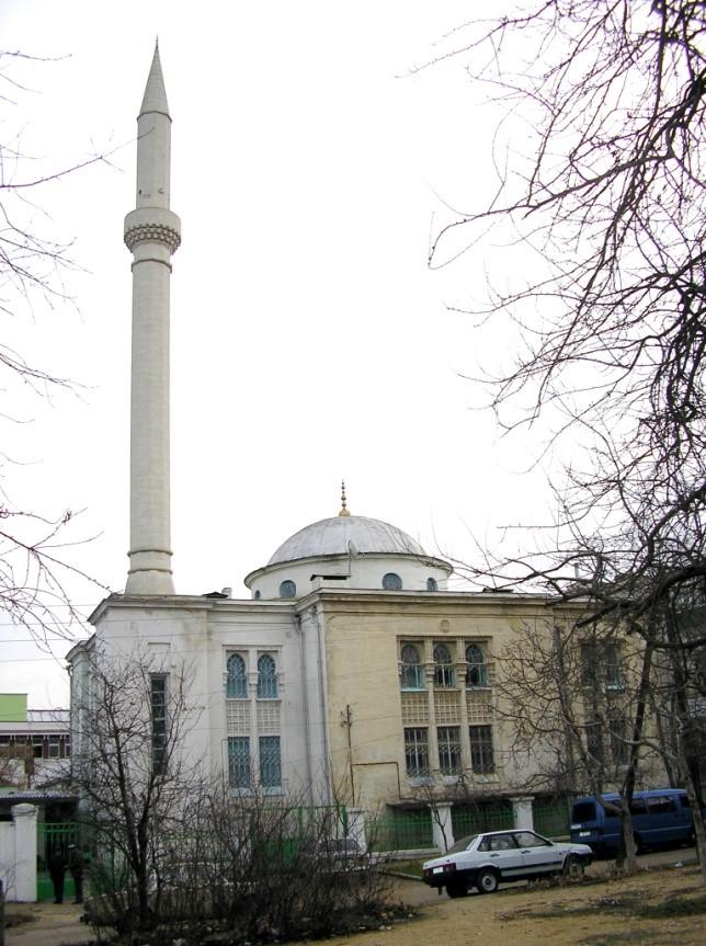Мусульманская мечеть. г. Севастополь. 2005 г. Фото Д.Г. Метелкина ГКУ АГС: Фотофонд. Ед. хр. 335-эл.