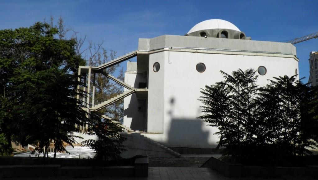 Строительство синагоги еврейской религиозной общины «Хабад». г. Севастополь, 16 октября 2015 г. Фото Г.Р. Горбуновой. ГКУ АГС: Фотофонд. Ед. Хр. 1882-эл_2